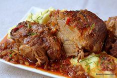 Pin on Mâncare Românească Egg Recipes, Pork Recipes, Baby Food Recipes, Chicken Recipes, Fish And Eggs Recipe, My Favorite Food, Favorite Recipes, Chicken Steak, Good Food