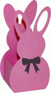 Silhouette Design Store - View Design #39275: 3d bunny bag