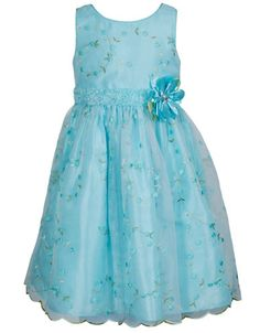 Girls 2-6x Floral Embroidered Occasion Dress   Lord and Taylor