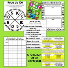 Primary Teaching Ideas and Resources Primary Teaching, Teaching Ideas, 100 Days Of School, 100th Day, Grade 1, Periodic Table, Education, Moment, Maths