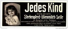 Original-Werbung/Anzeige 1912 - STECKENPFERD LILIENMILCH SEIFE  -ca. 130 x 55 mm