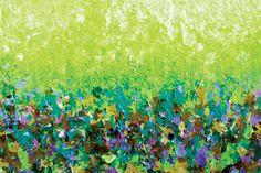 """Nature's Living Room IV"" By Artist Julia Di Sano, Owner/ Artist of Ebi…"