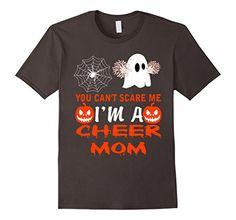 Men's You Can't Scare Me I am a Cheer Mom T-Shirt 2XL Asp...