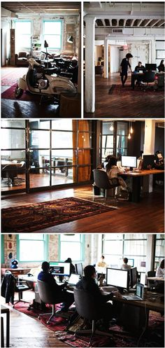 """Sid Lee (New York) """"Sid Lee is a creative services firm working globally from offices in Amsterdam, Montreal, New York, Paris and Toronto. Work Spaces, New York, Studio, Create, Life, Decor, Houses, Offices, Dekoration"""
