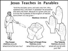 The Parable of the Talents Sunday School Coloring Pages The