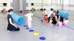 Children's Program - Dance With Me Class at Joffrey Ballet School on Vimeo