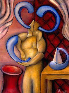 """""""Rosh Hashanah Warrior-3000"""" Cliff Richey http://1-cliff-richey.artistwebsites.com"""