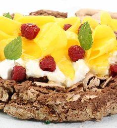 Cake merengado con Mousse de lima #receta #light
