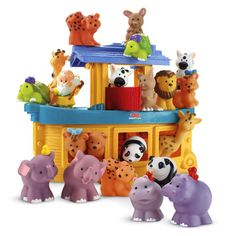 Little People Noahs Ark Gift SetBuy Gift Set & SAVE! - Fisher-Price Online Toy Store