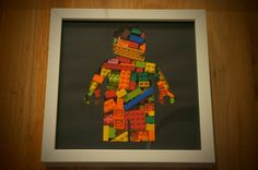 Cadre vitrine Mini-figurines Lego : Décorations murales par minifig
