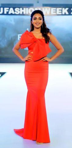 Amala Paul Amala Paul, Peplum Dress, Formal Dresses, Fashion, Dresses For Formal, Moda, Formal Gowns, Fashion Styles, Formal Dress