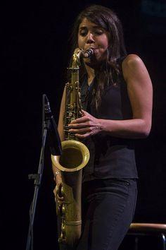 Melissa Aldana, Vitoria-Gasteiz, 2014 Jazz Blues, Blues Music, Jazz Standard, Saxophone Players, Tenor Sax, Cool Jazz, Duke Ellington, Pope John Paul Ii, All That Jazz