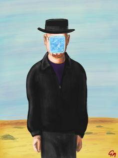 Magritte parody: Breaking Bad