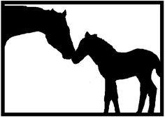 Akit Digital Design: Free papercutting template! - Horses