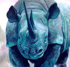 blue rhino #rhinoceros #rhino #topanimals