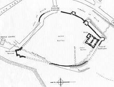 Rochester Castle plan.jpg (561×428)