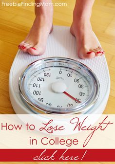 How to Lose Weight in College - 5 Simple Tips