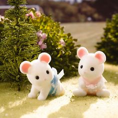 Calico Critters Milky Mouse Twins « Blast Groceries