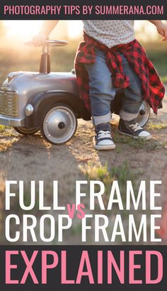 "When looking at camera choices, you may have come across two terms that mystify you: ""full frame"" and ""crop frame"". So what exactly are these two types of frames, and what does that mean for your camera? Let's get to the bottom of this mystery! #learnphotography #phototips #photography #tips #learn #cameraframe #learnyourcamera"