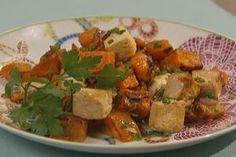 Sweet 'n' Spicy Breakfast Hash With Tofu Recipe via @SparkPeople