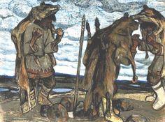 Nicholas Roerich - Sorcerers, 1905
