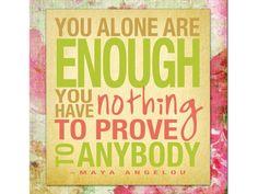 Woensdag: jij bent goed genoeg - Proud2Day - Proud2bme