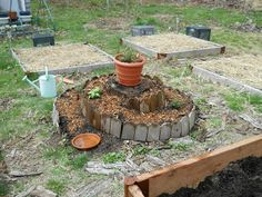 Adventure on Planet Earth: Herb Spiral, Raised Beds, Flower Pots and More!