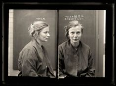 35 Vintage Female Mugshots From Between 1910s and 1930s
