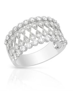 White gold and #diamond #ring