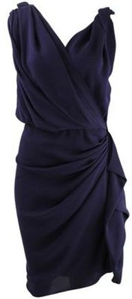 i like the drape of this dress and the neckline