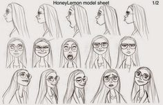 Resultado de imagen para honey lemon sketch