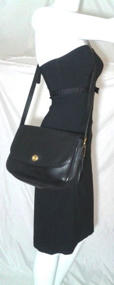 Vintage Coach City Bag 9790 Black Shoulder Bag Cross Body | Clothing, Shoes & Accessories, Women's Handbags & Bags, Handbags & Purses | eBay!