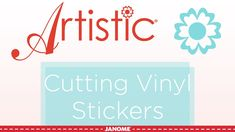 Artistic Edge Cutter Part 1: Cutting Vinyl Stickers - YouTube