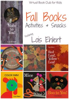 Fall Books and Activities featuring Lois Ehlert