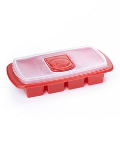 Another great find on #zulily! Red XL Ice Cube Tray by MSC International #zulilyfinds