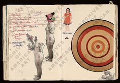 Janice Lowry's Journal #98, 2002-2003.    Image courtesy of the Archive of American Art.