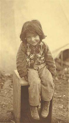 Tlingit boy...so cute.