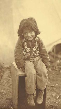 Tlingit boy...so cute.