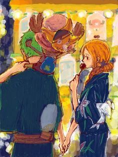 Zoro Nami ZoNa One Piece