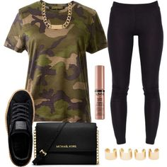A fashion look from November 2015 featuring Valentino t-shirts, Puma shoes and MICHAEL Michael Kors shoulder bags. Browse and shop related looks.