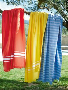 Fouta colorées pour l'été ! 100 x 180 cm
