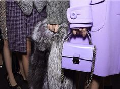 purple #MK purse