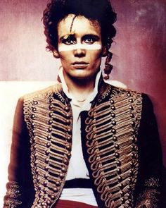 Adam Ant, the highway man!