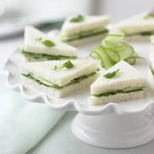 Cucumber Sandwich with European Style Butter Recipe