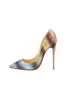 Python, Fashion Mag, Baby Steps, Spring Summer 2015, Stiletto Heels, Christian Louboutin, Pumps, Pretty, Pigalle