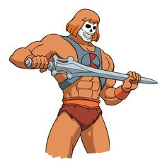 He-Man Movie Reboot To Cast Seasoned Body Builder, Know How Marvel Influenced Film Classic Cartoon Characters, Classic Cartoons, Disney Characters, Fictional Characters, Retro Cartoons, Cartoon Cartoon, He Man Movie, Hee Man, Comic Art