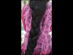 Monster Hair Lady - YouTube Long Black Hair, Beautiful Gorgeous, Hair Videos, Lady, Youtube, Fashion, Moda, Fasion, Fashion Illustrations