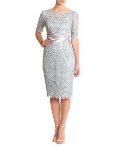 Glacier Sequin Lace Dress Image 0
