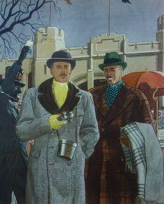 Winter-Topcoats-Plaid-Herringbone-Fur-Collar.jpg (641×800)
