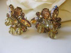Vintage Kramer Rhinestone & Crystal bead by Sisters2Vintage